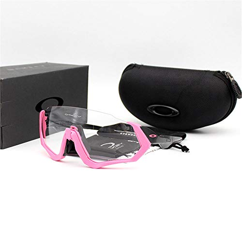ANSKT Cycling glasses transparent color bicycle outdoor riding mirror men and women are suitable for ultra light frame design @1