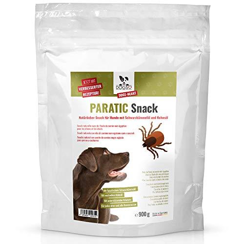 Dogs-Heart PARATIC Snack mit Schwarzkümmelöl und Kokosöl für Hunde (Sparpack 900g)