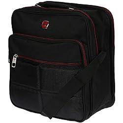 Hochwertiger Flugbegleiter Umhängetasche Arbeitstasche Herrentasche im Hoch und Querformat