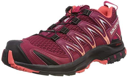 Salomon Damen XA Pro 3D W, Trailrunning-Schuhe, rot (beet red / cerise / black), Größe 39 1/3