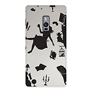 Neo World Falling Girl Back Case Cover for OnePlus 2