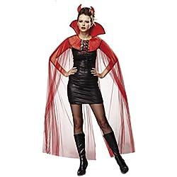 My Other Me Capa demoniaca para adultos, talla única (Viving Costumes MOM02276)