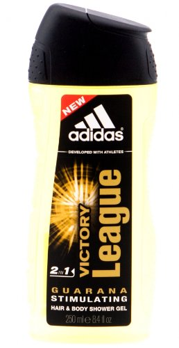 adidas Victory League 2in1 Hair & Body Shower Gel 250ml (ALC36)
