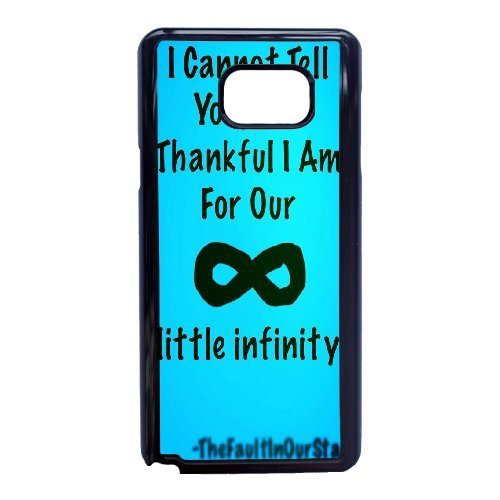 Personalised Samsung Galaxy Note 5 Full Wrap Printed Plastic Phone Case The Fault In Our Stars