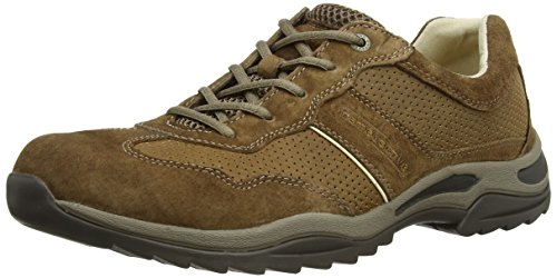 camel-active-reload-12-mens-low-top-sneakers-brown-timber-suede-leather-pu-6-uk