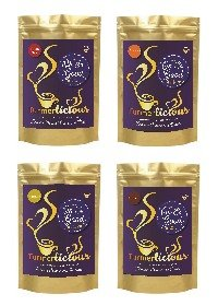 Turmerlicious Turmeric Latte Mixed bundle 20g Single Serving Pkt – 1 of each flavour – Dairy Free