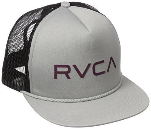 rvca-cappellino-da-baseball-uomo-grey-taglia-unica