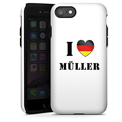 Apple iPhone X Silikon Hülle Case Schutzhülle Thomas Müller Fußball Sport Tough Case glänzend