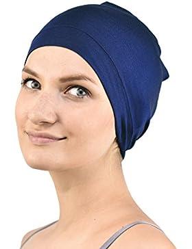 Jasmine seda Sleep Cap de bambú - Adecuado para la quimioterapia y la pérdida del cabello - Chemo del cáncer Cardani...