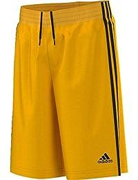 Adidas Y Commander J - Camiseta para niño, Color Amarillo/Negro, Talla 128