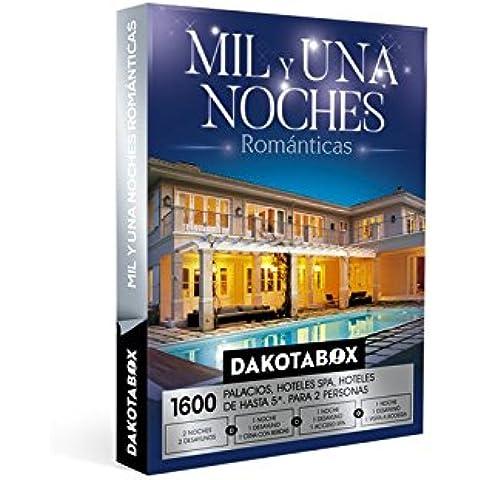DAKOTABOX - Caja Regalo - MIL Y UNA NOCHES ROMÁNTICAS - 1600 Hoteles spa, palacios, inolvidables hoteles de hasta