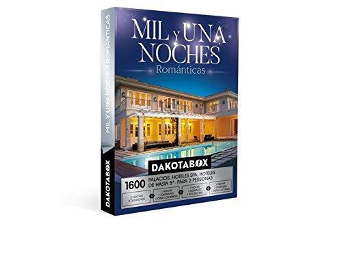 DAKOTABOX – Caja Regalo – MIL Y UNA NOCHES ROMÁNTICAS – 1600 Hoteles spa, palacios, inolvidables hoteles de hasta 5*
