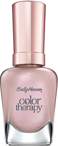 Sally Hansen Color Therapy Nagellack, 492 Rose Diamond, sofort pflegender Farblack mit glänzendem...