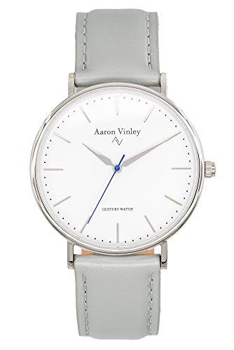 Aaron Vinley Uhr | Kopenhagen Serie - Weiß | Kratzfestes Saphirglas |...