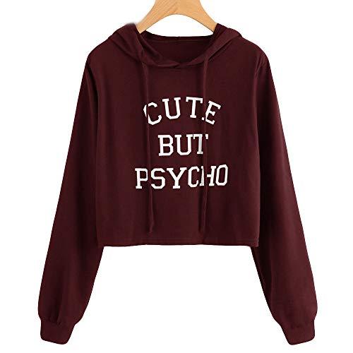 (Yanhoo Herbst Damen Pullover Dünne Mode Patchwork Langarm Rundhals Sweatshirt Pulli Langarmshirt Tops Oberteile)