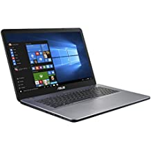 ASUS VivoBook 17 A705UQ-BX111T - Ordenador portátil de 17,3 HD+ (Intel Core i7-8550U, 16 GB RAM, 1 TB HDD, Nvidia GeForce 940MX de 2 GB, Windows 10 Home) gris oscuro - Teclado QWERTY Español