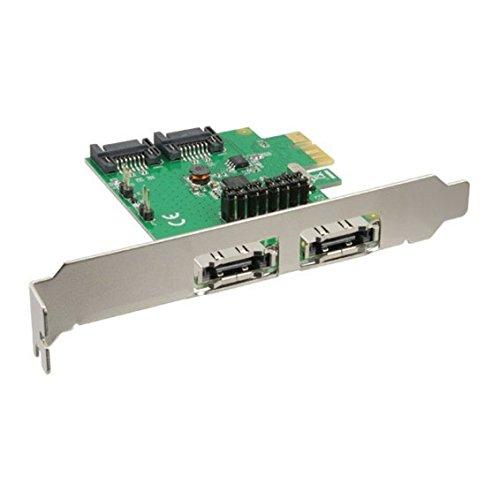 INLINE Schnittstellenkarte 2+2-Fach SATA 6Gb/s PCIe kein RAID