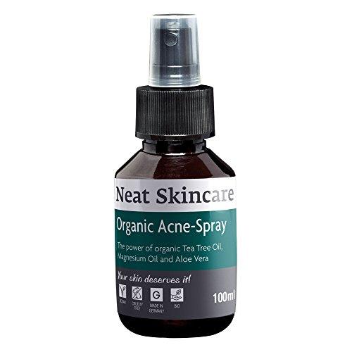 Mittel gegen Akne | Neat SkinCare | Acne am Rücken, Po, Schulter, Gesicht erfolgreich bekämpfen | 100ml Spray