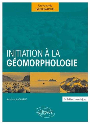 Initiation à la Géomorphologie