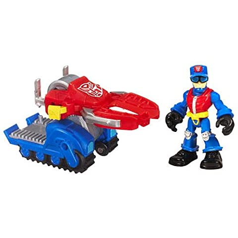 Transformers Rescue Bots Playskool Heroes Action Figure Set Chief Charlie Burns Rescue Cutter by Hasbro by