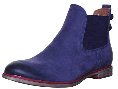 Boots Justin Blu Navy Reece Donna Chelsea 5800 qwFTOnzP