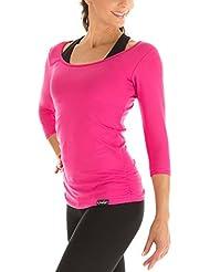 WinshapeWS4 Top aux manches 3/4 pour femme Pour le fitness, le yoga, le Pilates