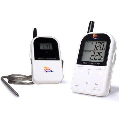 Maverick ET-732 Wireless Barbecue Thermometer mit Funk - deutsche Version, CE, Farbe: weiß -