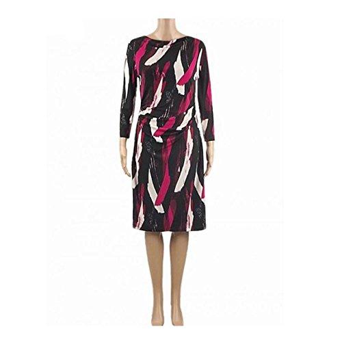 ex-jasper-conran-robe-femme-black-pink-cream-36