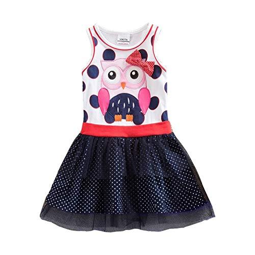 TRFLH& Summer Tutu Dress for Girls Dresses Kids Unicorn Vestidos Girls Princess Dress Birthday Party Costumes Children Sequined Clothes Sky Blue 5 (Junior-elmo Shirt)