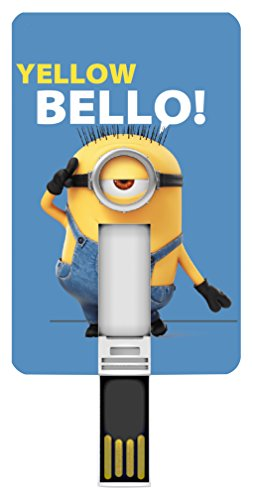 Silver hi-tech 17404 iconiccard minion bello memoria usb portatile 8192 mb
