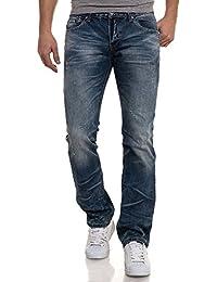 BLZ jeans - Jean bleu mode délavé