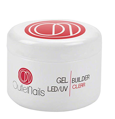 UV Gel Builder Clear 30ml uñas gel - UV/LED Constructor