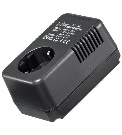 Convertisseur 110V vers 220V 45W pour materiel francais aux US