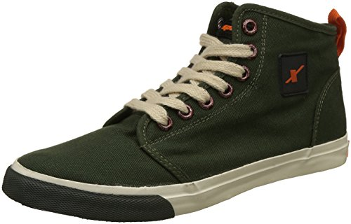 Sparx Men's SM-233 Olive Sneakers - 10 UK/India (44.67 EU)(SC0233G)