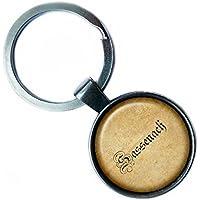Outlander Sassenach Spelling #2 Silver Keychain Silber Schlüsselanhänger