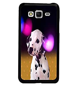 PrintDhaba Cute Dog D-2829 Back Case Cover for SAMSUNG GALAXY GRAND PRIME (Multi-Coloured)