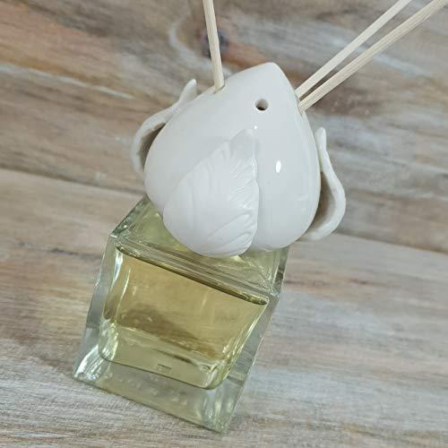 Bomboniere profumatore diffusore con applicazione pumo in ceramica di grottaglie (fai da te)