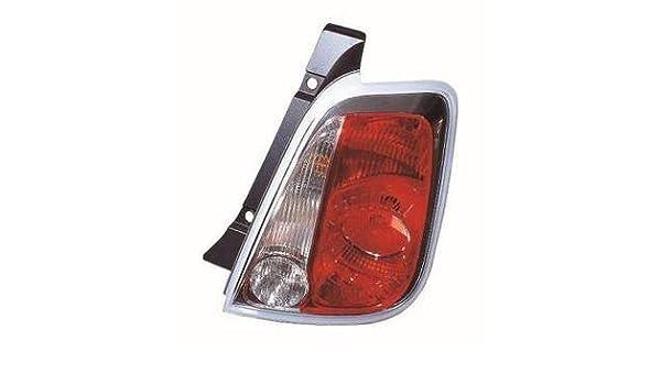 Fiat 500 Rear Light Unit Passenger/'s Side Rear Lamp Unit  2008-2013