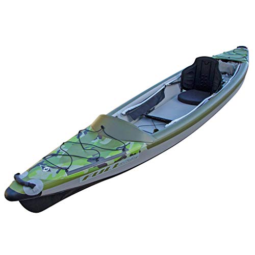 BIC Sport - Canoa Gonfiabile Yakkair Full HP 1 One 101497 + Pagaia Divisibile in 4 31652