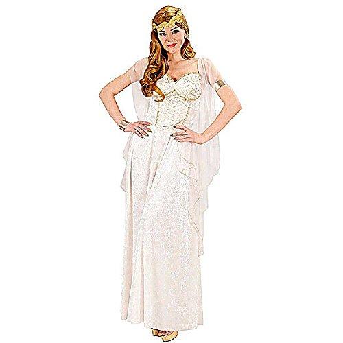 Widmann 75463 - Griechische Göttin - Kostüm für Damen, Größe (Und Göttinnen Götter Griechische Kostüme)