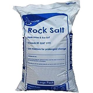 Rock Salt 25kg De-icing Bag
