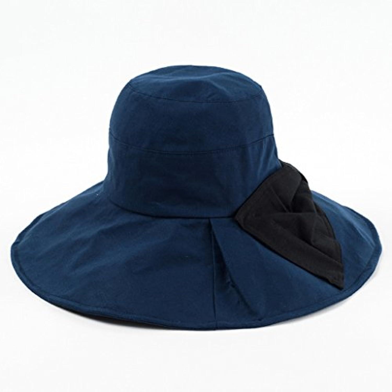 Cappello Sole da Sole Cappello Estivo Spiaggia Estivo Femminile Sole  Pieghevole di Prossoezione Solare Femminile QIQIDEDIAN Parent 190e97 a3426b591b47