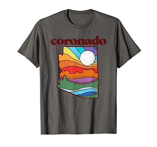 Coronado Forest Arizona Vintage Nature Design Outdoor  T-Shirt