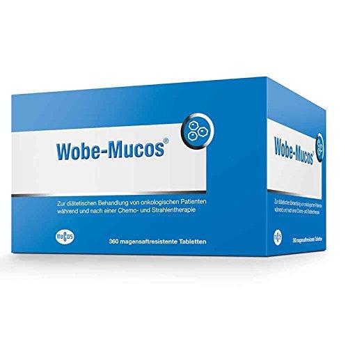 Wobe-Mucos Tabletten, 360 St. magensaftresistente Tabletten