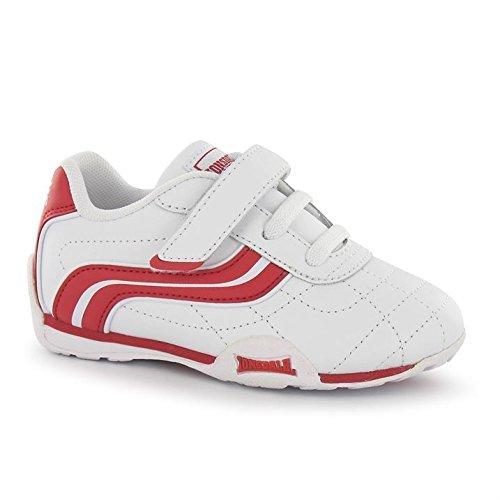 Lonsdale camden enfants Chaussures de sport Fashion Sneaker Chaussures de sport Chaussures de loisir Blanc/Rouge