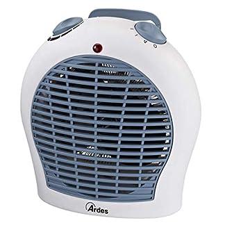Ardes ar4F03Calefactor eléctrico Baleno 2Potenze con termostato y LED ON/Off Blanco/Baleno