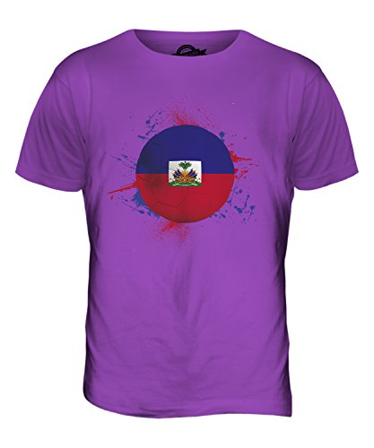 CandyMix Haiti Fußball Herren T Shirt Violett