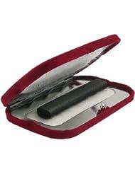 Bolsillo portátil estufa, calor es producido por brillante varillas de carbón (13x 8x 3cm)
