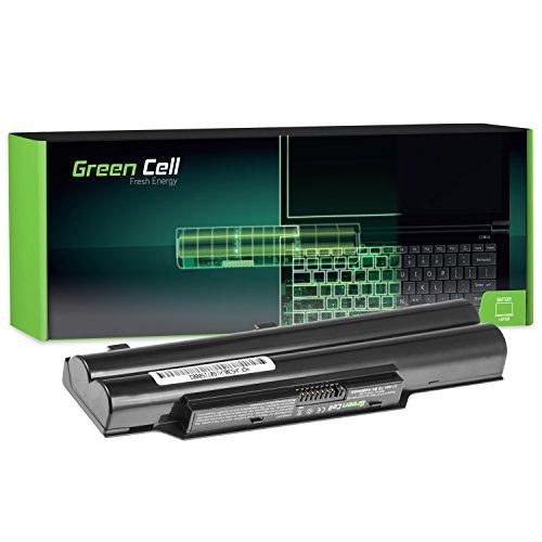 Green Cell® Standard Serie Laptop Akku für Fujitsu LifeBook A512 (6 Zellen 4400mAh 10.8V Schwarz)