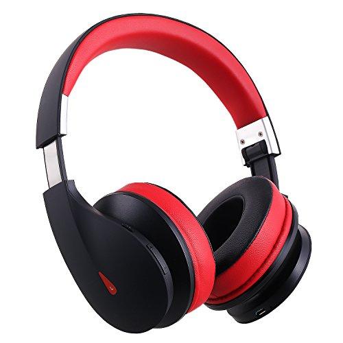 AUSDOM Kabellose Bluetooth 4.0 + EDR On-Ear-Stereo-Kopfhörer AH2, Over-Ear-Headset mit integriertem Mikrofon (20-hour Spielen Zeit)